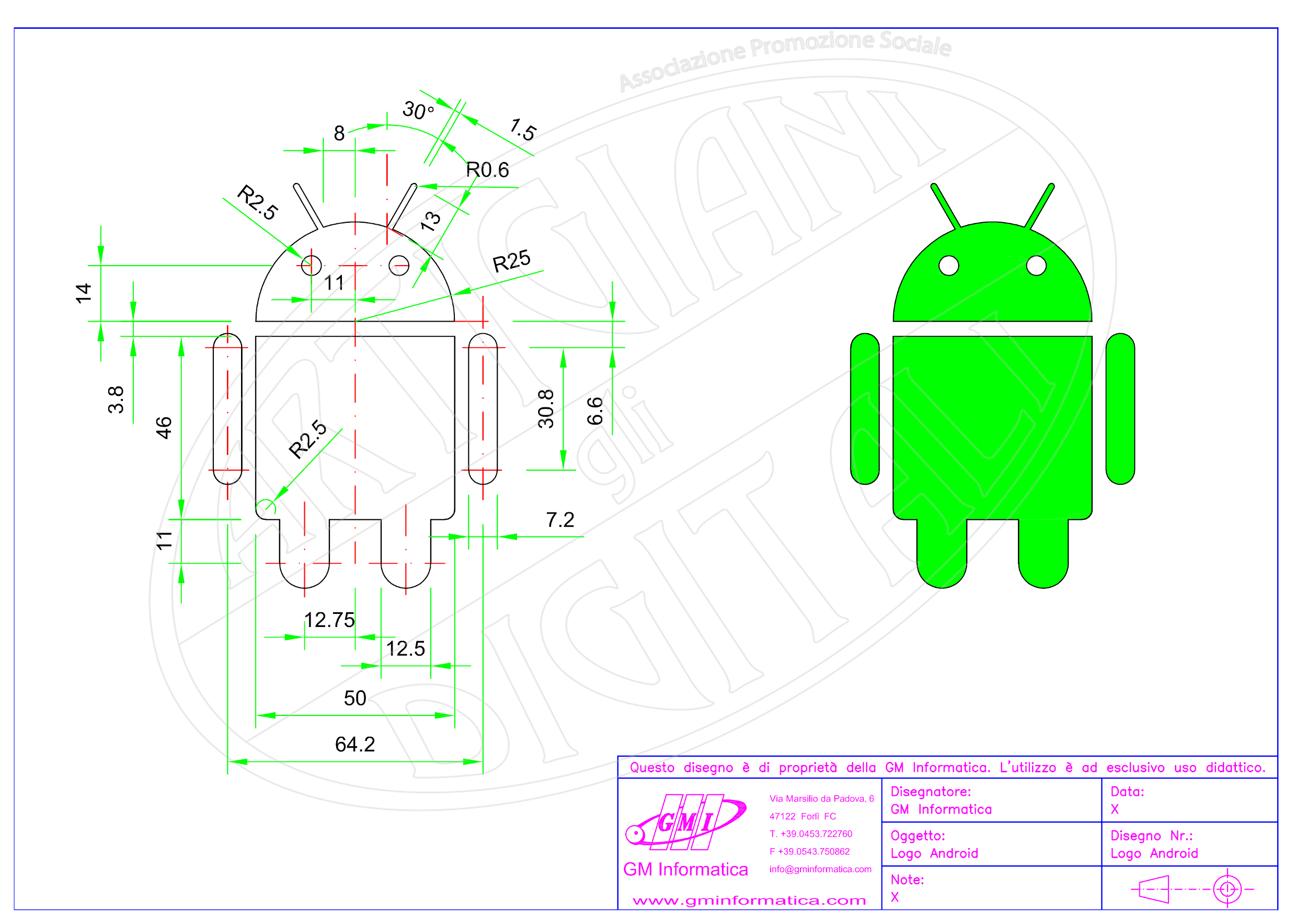 Android Logo - 2D
